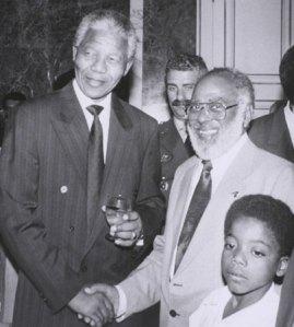 Nelson Mandela e Abdias