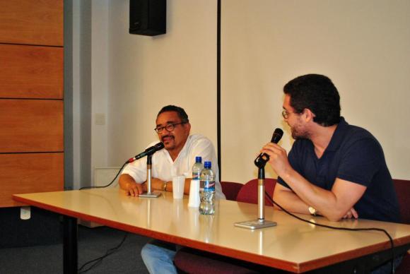Muniz Sodré e Pablo Laignier