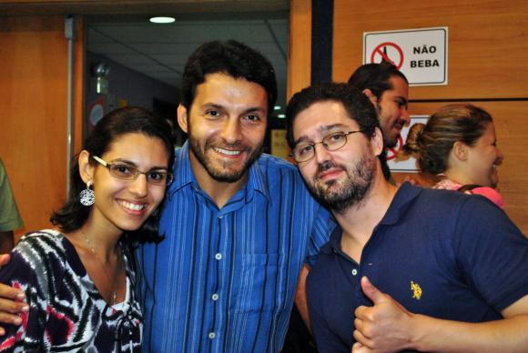 Verônica Maia, Ricardo Moraes e Pablo Laignier