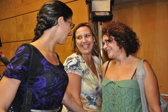 Raquel Timpone, Lilian Saback e Zilda Martins