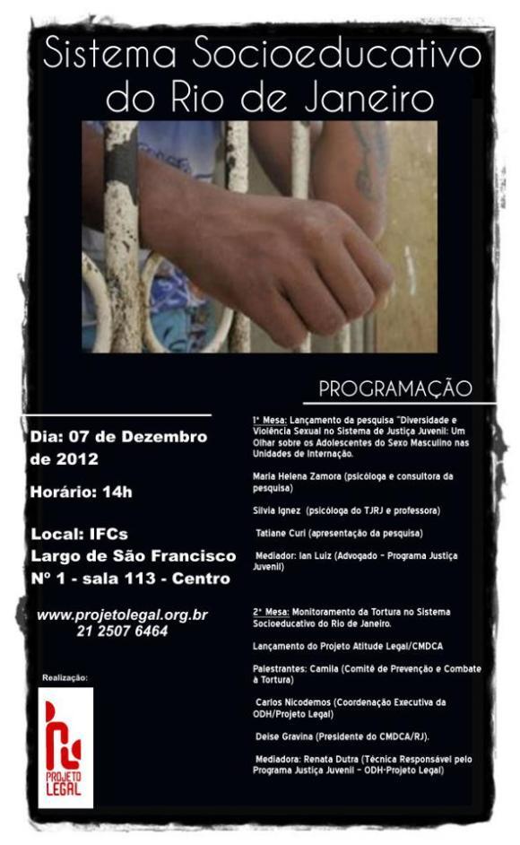 Sistema Socioeducativo do Rio de Janeiro - 07/12